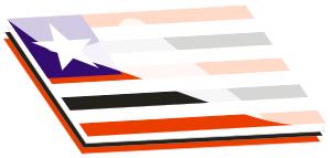 bandeira transparente dois